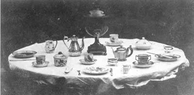 William Henty Fox Talbot - The Breakfast Table, 1840